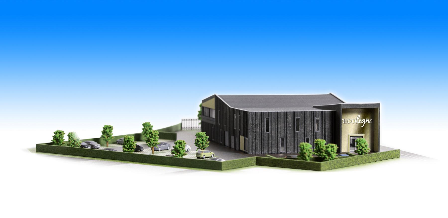 Maquette nieuwe hoofdkantoor